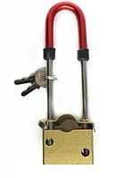 Вело замок сталевий протиугінна блокування 7 мм