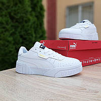 Мужские кроссовки в стиле  Puma Cali белые, фото 1