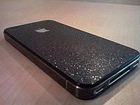 Декоративна захисна плівка для Iphone 4/4S, димчастий кварц, фото 1