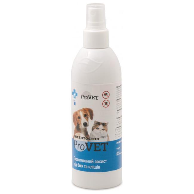 Спрей для кошек и собак Природа ProVET «Инсектостоп» 100 мл