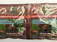 Таблетки от моли GLOBAL с запахом кедра 10 шт.