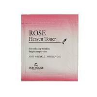 Омолаживающий тонер с экстрактом розы The Skin House Rose Heaven Toner 2 мл Пробник 464050, КОД: 1732841