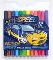 Фломастеры 12 цв. Speed car 650362