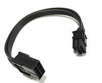 Перехідник GPU PCI-E 20 см 8pin на 8 (6+2) 2 pin кабель подовжувач, фото 1
