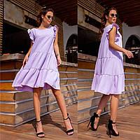 Сукня жіноча з оборками в нормі