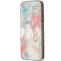 Чехол-накладка DK-Case Акварель для Apple iPhone 5 5S Разноцветный 06039-750, КОД: 1751029