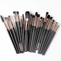 Набор кистей для макияжа Rosalind 20 шт. Чёрный, фото 1