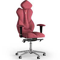 Кресло KULIK SYSTEM ROYAL Ткань с подголовником без строчки Коралловый 5-901-BS-MC-0514, КОД: 1692632