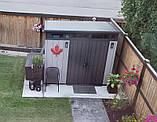 Садовий будиночок сарай Keter Artisan 9x7 Shed, фото 7