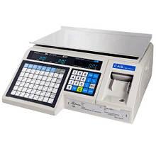 Весы с печатью этикетки LP 1.6 (без стойки) RS-232 бу