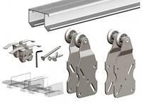 Комплект Подвесной Раздвижной Системы Для Шкафа-Купе Valcomp Horus Hr18 Для 2-Ух Дверей До 45Кг (212-013)