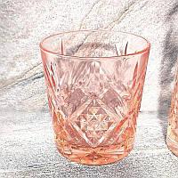 """Набор низких стаканов 300 мл """"Зальцбург"""" розовый  6шт, Luminarc."""