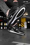 Мужские кроссовки Nike Air Max 270 (черные) KS 1496, фото 2