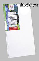 Полотно на підрамнику дрібне зерно Rosa Studio,40*80 см,бавовна,бічна натяжка GPA5264080