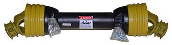 Карданный вал для подборщика, фрезы, разбрасывателя (40 см) 6*6 шлицов