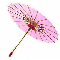 Зонт Бамбук С Бумагой Малиновый (D-30 См H-23 См) 32748B