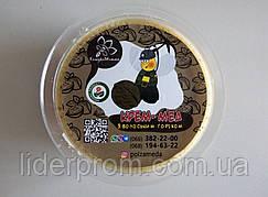 Крем-мед с грецким орехом. Горіховий крем-мед.Производство Украина