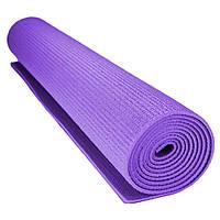 Коврик для фитнеса и йоги Power System PS-4014 Fitness-Yoga Mat Purple