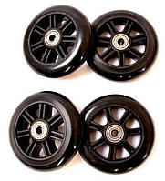 Колеса для трюковых самокатов АВЕС 7 82A Диаметр - 100 мм Черные 385285500, КОД: 1727813