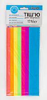 Бумага Тишью для творчества флуоресцентная (7л) набор №61 952855