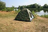 Намет Treker MAT-118 тримісна, двошарова туристична, фото 5