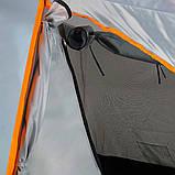 Намет Treker MAT-115 тримісна, двошарова туристична, фото 4