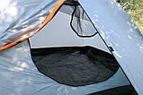 Намет Treker MAT-117 тримісна, двошарова туристична, фото 6