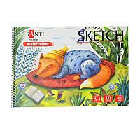 Альбом для акварели SANTI Wonderland, А4 Paper Watercolour Collection, 10 л., 200г/м2 742603