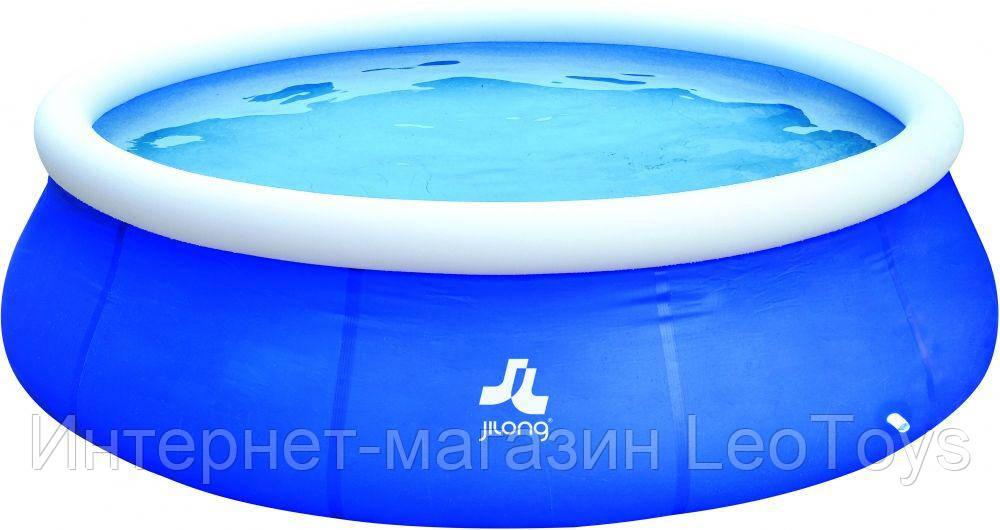 Бассейн надувной Jilong JL17794EU с фильтром (360x76 см). Басейн надувний.