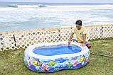 Бассейн детский надувной Jilong 10118 (175 х 109 х 46 см). Басейн надувний, фото 3