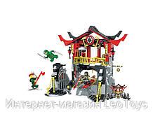 Конструктор JVToy 16009 Битва в Храмі воскресіння 545 деталей (Ninjago)