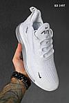 Чоловічі кросівки Nike Air Max 270 (білі) KS 1497, фото 6