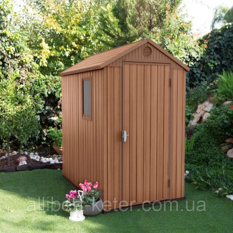 Садовый домик сарай Keter Darwin 4x6 Shed