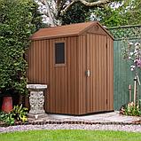 Садовый домик сарай Keter Darwin 4x6 Shed, фото 6