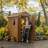 Садовий будиночок сарай Keter Darwin 4x6 Shed, фото 2