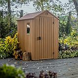 Садовий будиночок сарай Keter Darwin 4x6 Shed, фото 4