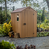 Садовый домик сарай Keter Darwin 4x6 Shed, фото 4