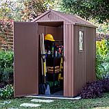 Садовый домик сарай Keter Darwin 4x6 Shed, фото 7