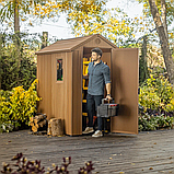 Садовый домик сарай Keter Darwin 4x6 Shed, фото 8