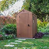 Садовый домик сарай Keter Darwin 4x6 Shed, фото 9