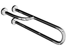 Поручень для инвалидов Эверест PM-02 пристенный усиленный с поворотной ножкой, Ø 32мм - 700мм