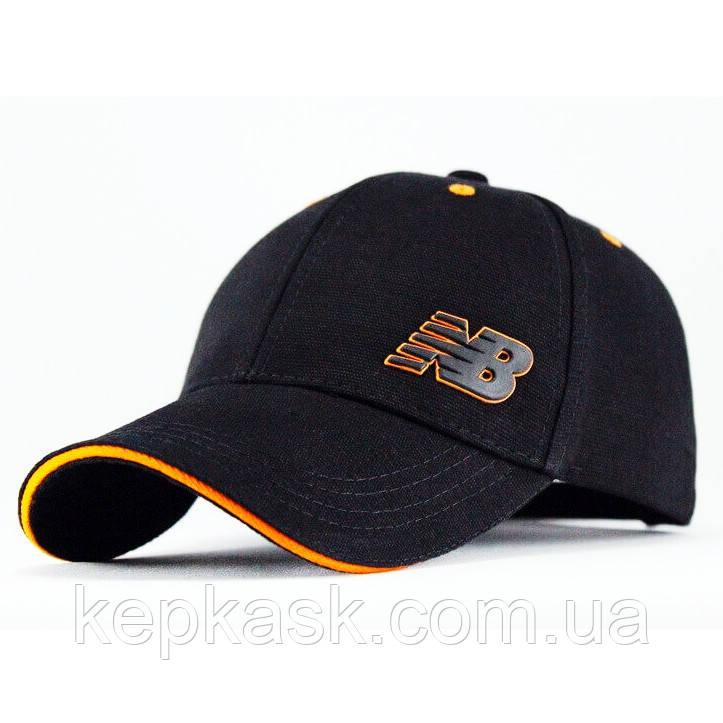 Бейсболка котон Black NB-4