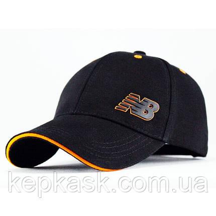 Бейсболка котон Black NB-4, фото 2