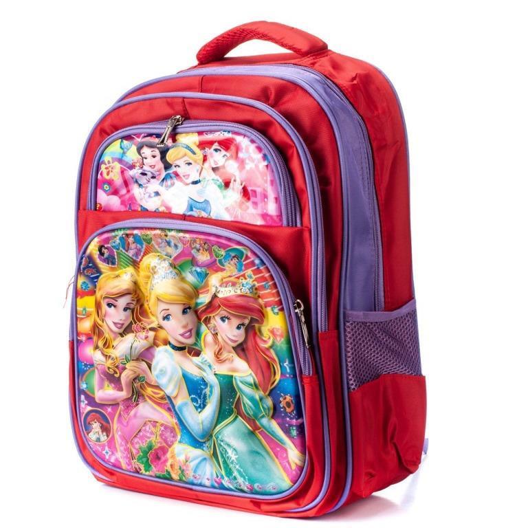 Рюкзаки для школьников 3D девочка