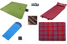 Спальні мішки і килимки