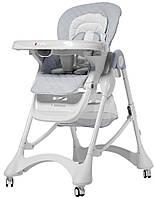 Детский стульчик для кормления Carrello Caramel (серый цвет)