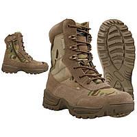 Ботинки тактичні на блискавці TACTICAL BOOT M.YKK ZIPPER Мультикам, фото 1