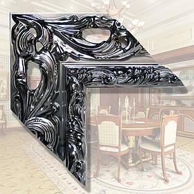 Зеркало с широкой рамой 146мм