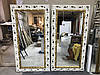 Зеркало в деревянном широком багете 146мм, фото 3