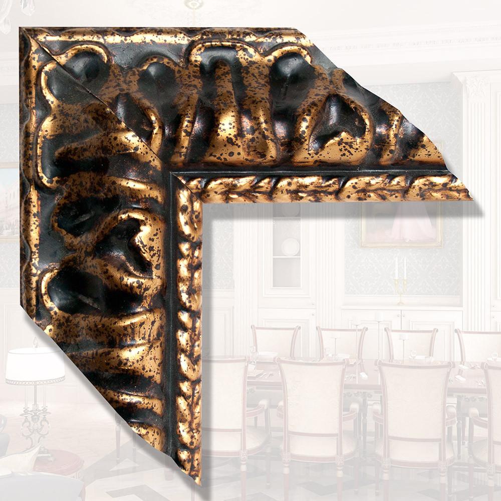 Зеркало в деревянном Итальянском багете 119мм